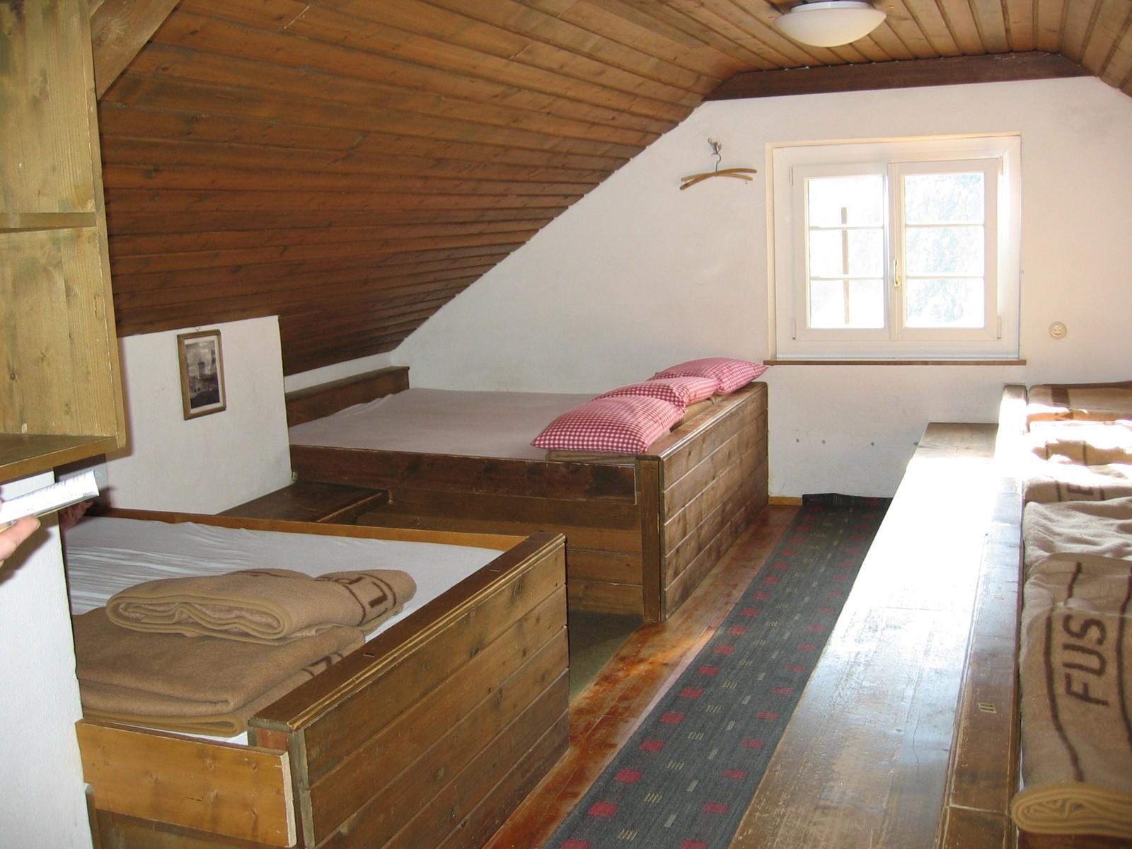 Matratzenlager  Ausstattung
