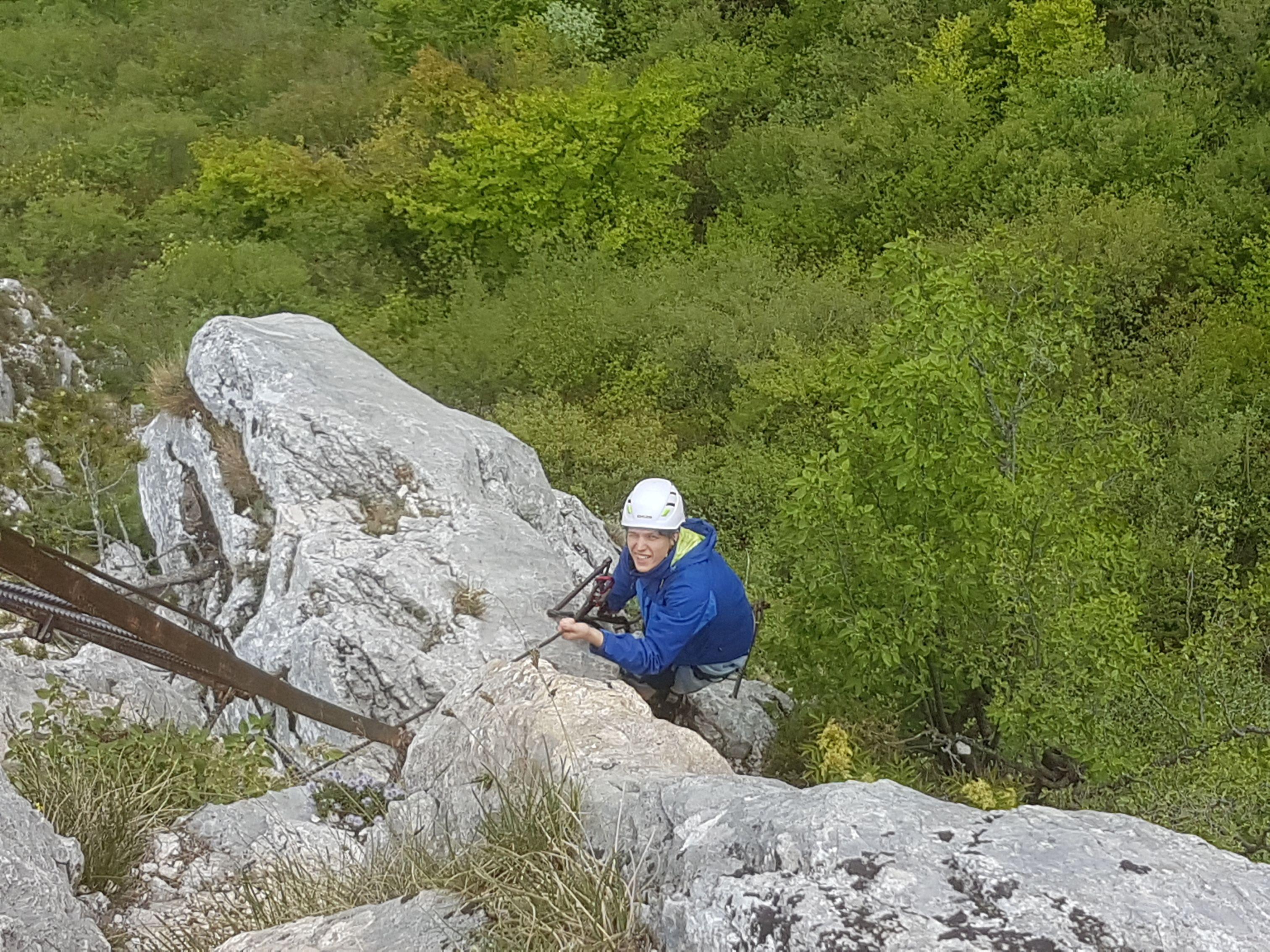 Klettersteig Riva Del Garda : Colodri klettersteig bei arco am gardasee auf den berg